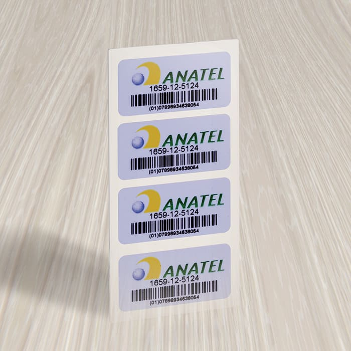 Etiquetas Anatel onde encontrar